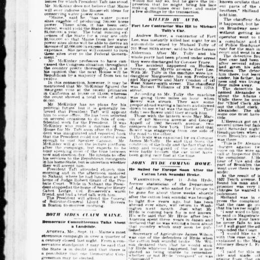 The sun  (New York [N Y ]) 1833-1916, September 12, 1910, Page 10