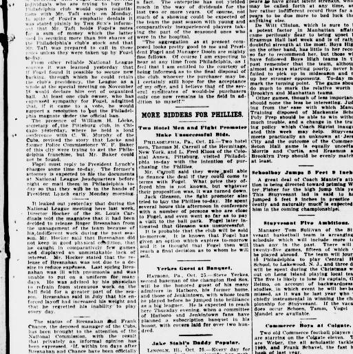 The sun  (New York [N Y ]) 1833-1916, October 26, 1912, Page