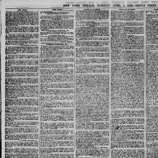 The New York herald  (New York [N Y ]) 1840-1920, April 05