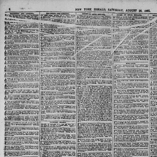 The New York herald  (New York [N Y ]) 1840-1920, August 26, 1865