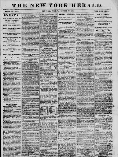 The New York herald  (New York [N Y ]) 1840-1920, December