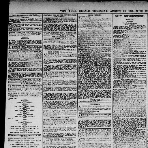 The New York herald  (New York [N Y ]) 1840-1920, August 24, 1871