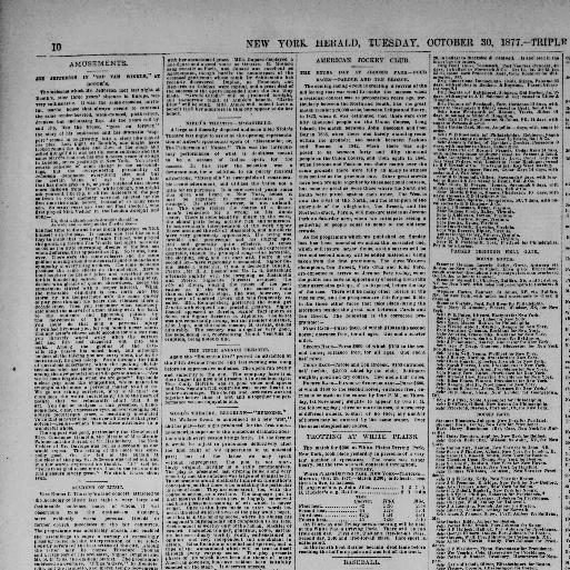 The New York herald  (New York [N Y ]) 1840-1920, October 30