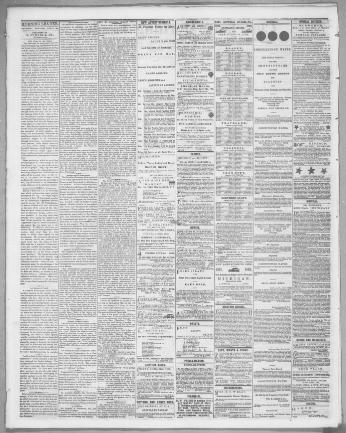 Cleveland Morning Leader Cleveland Ohio 1854 1865