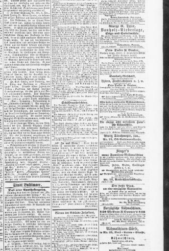 Der Deutsche correspondent. (Baltimore, Md.) 1841-1918, March 04 ...