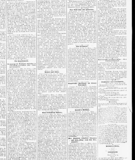 Der Deutsche correspondent. (Baltimore, Md.) 1841-1918, March 22 ...