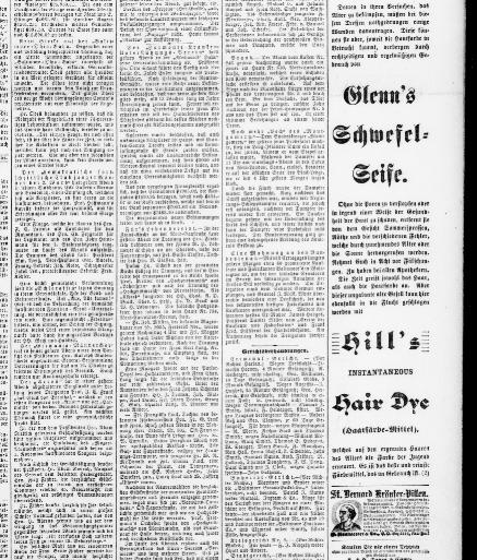 Der Deutsche correspondent. (Baltimore, Md.) 1841-1918, October 06 ...