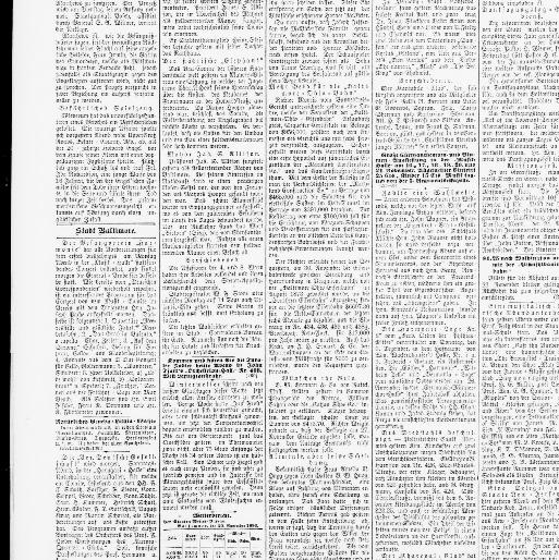Der Deutsche correspondent. (Baltimore, Md.) 1841-1918, November 21 ...