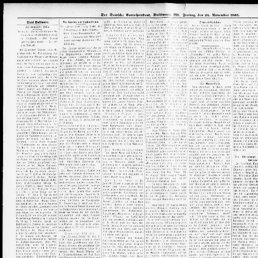 Der Deutsche Correspondent. (Baltimore, Md.) 1841 1918, November 25, 1905,  Page 5, Image 5 « Chronicling America « Library Of Congress