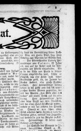 Der Deutsche correspondent. (Baltimore, Md.) 1841-1918, April 13 ...