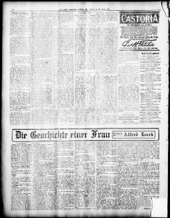 Der Deutsche correspondent. (Baltimore, Md.) 1841-1918, January 13 ...