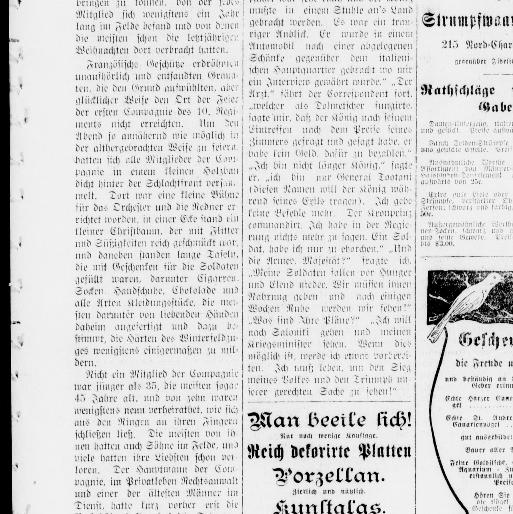 Der Deutsche correspondent. (Baltimore, Md.) 1841-1918, December 28 ...