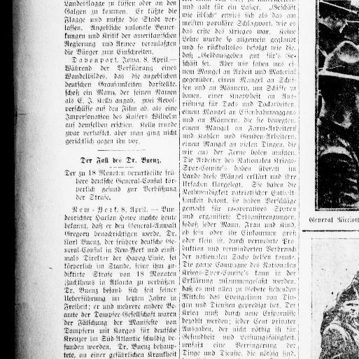 Der Deutsche correspondent. (Baltimore, Md.) 1841-1918, April 09 ...