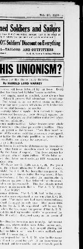 The Butte daily bulletin  (Butte, Mont ) 1918-1921, February