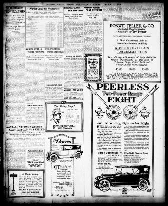 Evening Public Ledger Philadelphia Pa 1914 1942 March 10