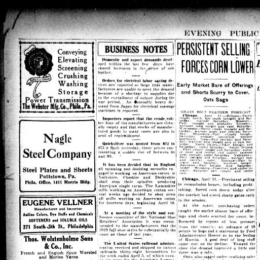Evening public ledger  (Philadelphia [Pa ]) 1914-1942, April 11