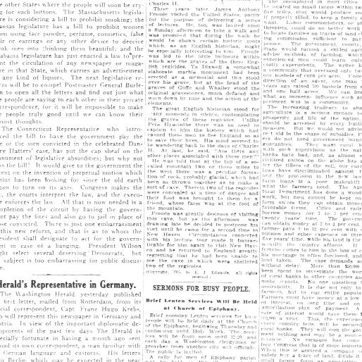 The Washington Herald Washington D C 1906 1939 February 13