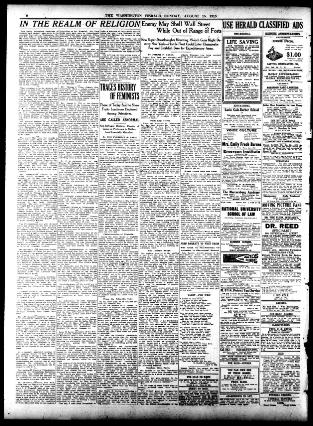 The Washington herald  (Washington, D C ) 1906-1939, August