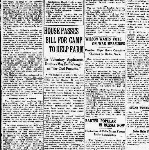 The Washington Herald Washington D C 1906 1939 March 09 1918