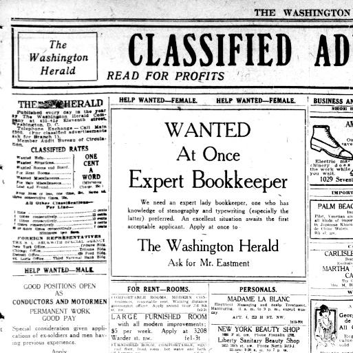 The Washington herald  (Washington, D C ) 1906-1939