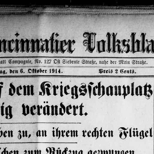 Skandinavische Len tägliches cincinnatier volksblatt volume cincinnati ohio 1885