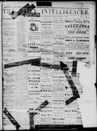 Thumbnail for the Jun. 5, 1876 edition of the The Daily Intelligencer
