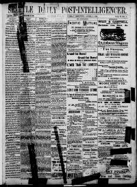 Thumbnail for the Apr. 5, 1882 edition of the Seattle Daily Post-Intelligencer
