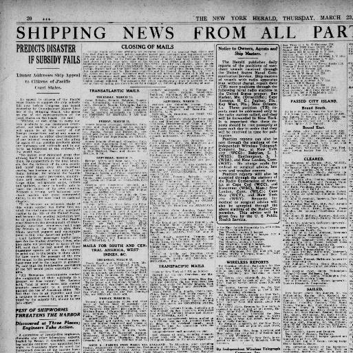 The New York herald  (New York, N Y ) 1920-1924, March 23, 1922