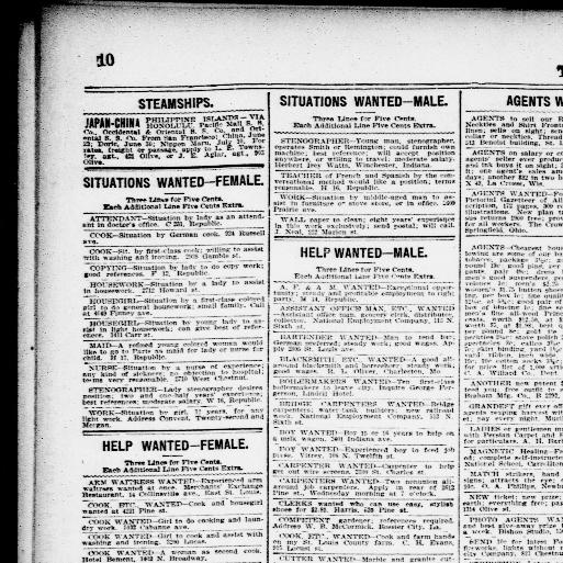 898cc5bb45b9b The St. Louis Republic. (St. Louis, Mo.) 1888-1919, June 13, 1900, Page 10,  Image 10 « Chronicling America « Library of Congress