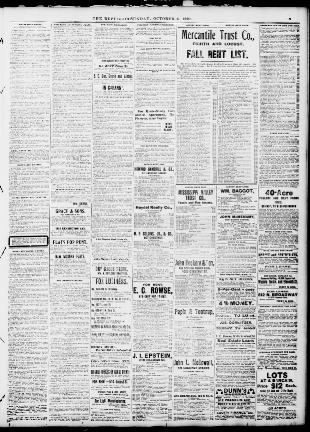 The St  Louis Republic  (St  Louis, Mo ) 1888-1919, October 06, 1901
