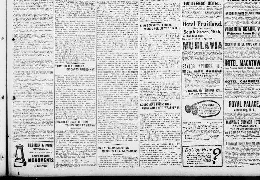 The St Louis Republic July 12 1903 Part I Image 9 About Mo 1888 1919