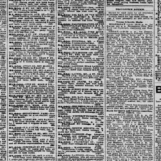 The evening times  (Washington, D C ) 1895-1902, August 05