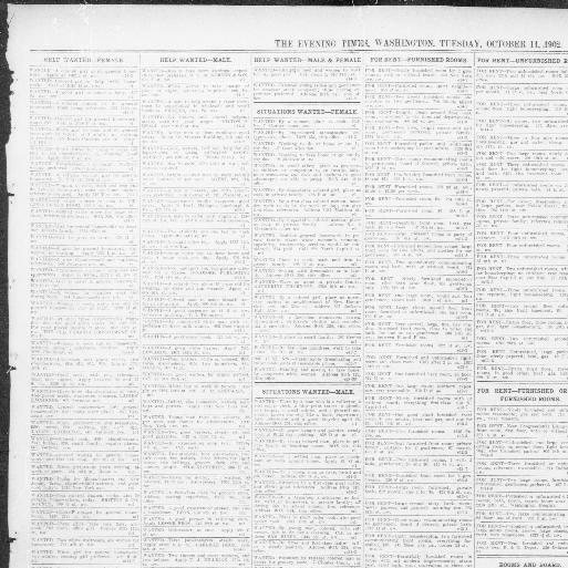 The evening times  (Washington, D C ) 1895-1902, October 14, 1902