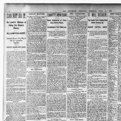 Pittsburg dispatch  (Pittsburg [Pa ]) 1880-1923, June 11, 1889, Page