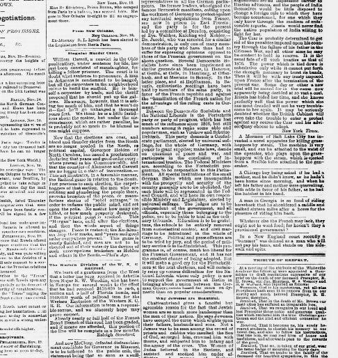 Wilmington Journal Wilmington Nc 1844 1895 November 25 1870
