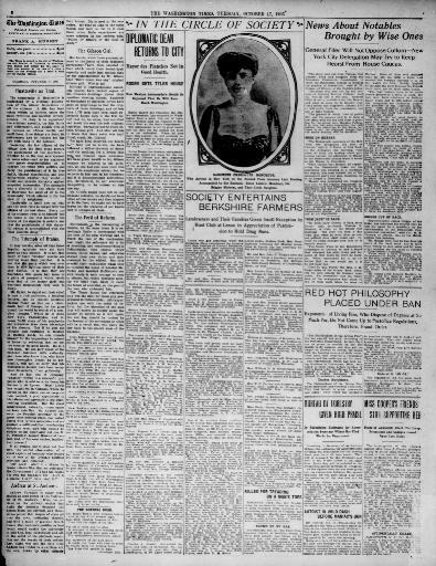 The Washington Times Washington Dc 1902 1939 October 17
