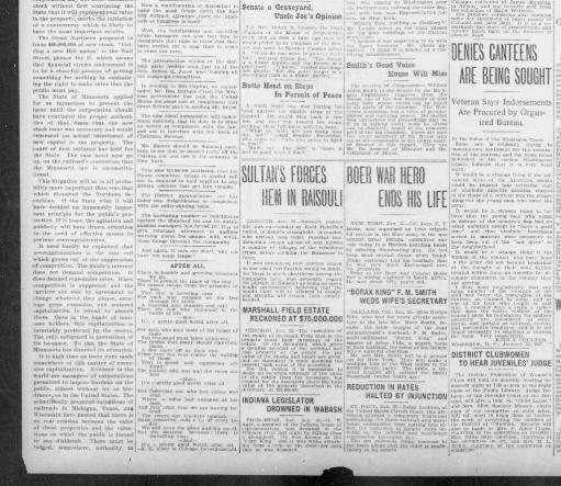 The Washington times  (Washington [D C ]) 1902-1939, January 25