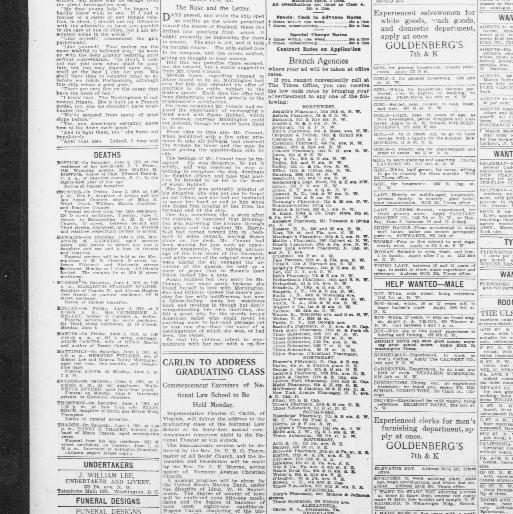 The Washington times  (Washington [D C ]) 1902-1939, June 05, 1910