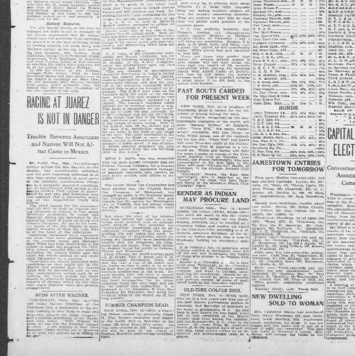 The Washington times  (Washington [D C ]) 1902-1939, November 14