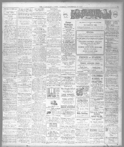 The Washington times  (Washington [D C ]) 1902-1939