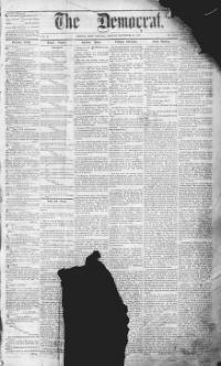Thumbnail for the Dec. 1, 1868 edition of the The Democrat