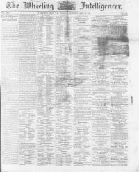 Thumbnail for the Jun. 26, 1865 edition of the The Wheeling Daily Intelligencer
