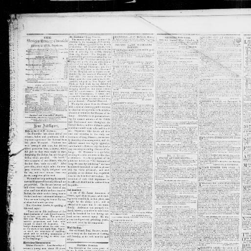 Western Reserve Chronicle Warren Ohio 1855 1921 August 29 1855