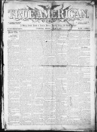 Thumbnail for the Jan. 4, 1855 edition of the True American