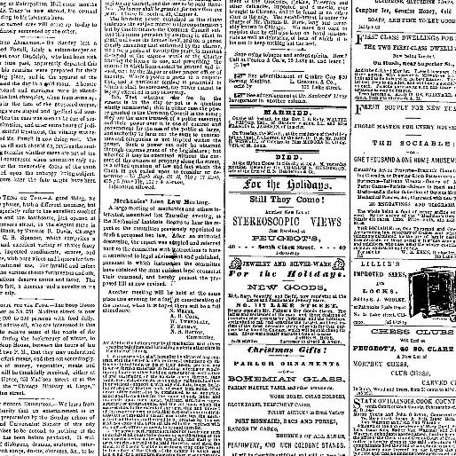 Chicago Daily Press And Tribune Chicago Ill 1858 1859 January