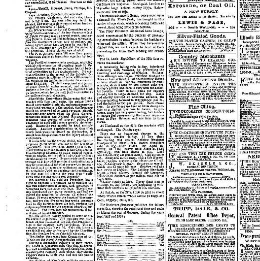 Chicago Daily Press And Tribune Chicago Ill 1858 1859 February