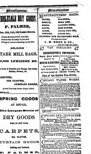 Chicago Daily Tribune Volume Chicago Ill 1860 1864 April 23