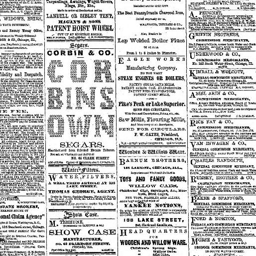 Chicago Daily Tribune Volume Chicago Ill 1860 1864 March 31