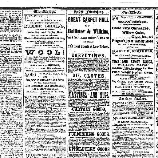 Chicago Daily Tribune Volume Chicago Ill 1860 1864 July 02