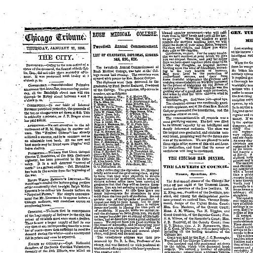 3b24e5700ea82 Chicago daily tribune.  volume  (Chicago